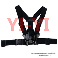 Hot sales!2 in 1,Free shipping,Fixed Chest Strap w/ Mount for GoPro HERO 3+ / 3 / 2 / 1 / SJ4000