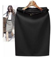 2014 New Fashion Women's Business Suit Pencil Skirt Elegant Wool Vocational OL Skirts
