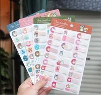 Free ship 1lot=24pcs/korean stationery kawaii Cute Owl cartoon post-it note N stickers memo pads school supplies