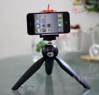 2014 New High Quality Yunteng Metal Flexible Mini Tripod Ball Head Ballhead With Phone Holder X100s G1X G16 Camera Accessories