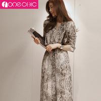 Free shipping 2014 new arrive lady long dress hot sale women's chiffon print dresses 0037