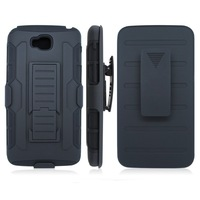 Newest Rugged Armor Hybrid Combo Belt Clip Holster With Kickstand Hard Cover Case For LG G Pro Lite D680 Via Free Ship