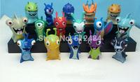 Cute New Movie Cartoon Slugterra PVC Action Figures Toys 16pcs/set Christmas Gifts Boys Toys