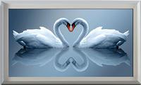 алмазов diy алмаз вышивка живопись модные ленты вышивка любовь сопровождается цвета 3d стерео гостиная спальня Новая