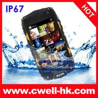 Hot sales!!Original MANN ZUG 3+  A18 IP67 Quad Core Waterproof Mobile Phone 1GB RAM 4GB ROM IPS Dustproof Shockproof runbo X5