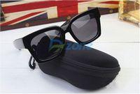Hot Protable Zipper Clam Shell Hard Case Pouch Bag Eye Glasses Sunglasses Box#58328