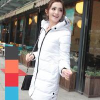 Real photo 2014 winter new women coat lady Korean fashion printing letters Slim Downsize L.XL.XXL