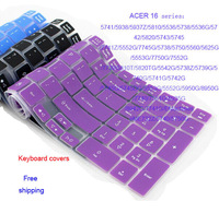 Keyboard Covers laptop keyboard protective Film Sticker Protector For ACER 5740G 5760G 5810 5750G 5560G 5742G