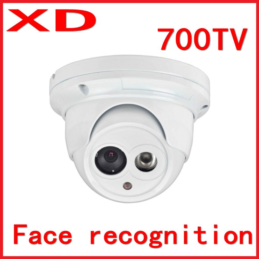 "1/3""SONY 4140+811,700 tvl, 6mm lente, 30m ir gamma di riconoscimento facciale telecamera dome"
