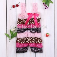 2014 New Fashion Newborn Lace And Satin Ruffle Rompers Toddler Girl Fashion Style Romper Infant Baby Ruffle Romper