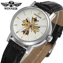 Winner Watch Fashion Women Watches Top Quality Lady Watch Factory Shop Free Shipping WRL8048M3S1