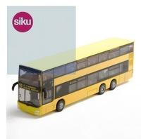 Germany siku alloy double-decker bus passenger bus children's toy car simulation model buses