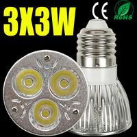10X High power CREE LED Spot Lamp E27 9W 12W 15W AC110 220V Dimmable Led spotlight Spot Light Led Downlight Warm/Pure/Cool White