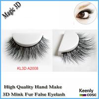 Fastest Shipping! Black Mink Tray Eyelash customized 3d mink lashes strip false eyelashes extensions belle lashes