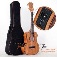 """TOM  guitar ukulele manufactory TUT-200E import musical instruments with EQ Ukulele With Aquila Strings 26"""" free shipping"""