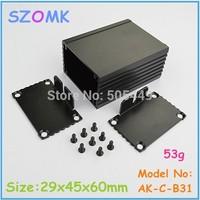 1pc free shipping aluminium  box for led driver  aluminum enclosures for electronics extruded aluminium enclosures  29x45x60 mm