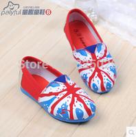 Child canvas shoes autumn 2014 pedal shoes lazy Moccasins casual shoes single shoes