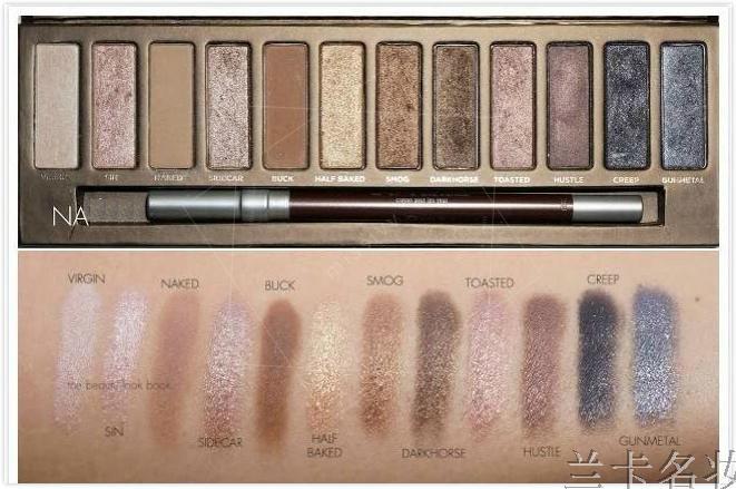 Wholesale 2015 new NAKE 1 Makeup set 12 Colors palette NK1 2 3 eyeshadow palettes make up with brush, free shipping(China (Mainland))