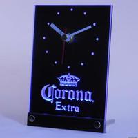 tnc0092 Corona Extra Beer 3D LED Table Desk Clock