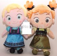 2014 New Frozen  Elsa Anna Plush Doll 30cm  Princess Doll Frozen Plush Toys Brinquedos Dolls for Girls Dolls & Accessories