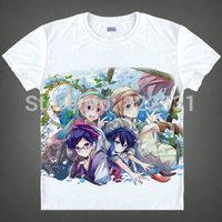 Free!-Eternal Summer Rin Matsuoka Haruka Nanase Makoto Tachibana T-shirt Breathable short sleeve Cartoon shirt manga cosplay