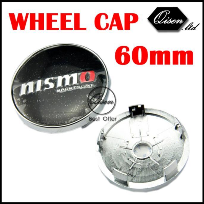 4 X Black NISMO 60MM CAR WHEEL Hub Center LOGO Caps Metal Aluminum for Skyline 180SX GTR R35 R50 Qashqai Tiida S13 S14 #SO215(China (Mainland))