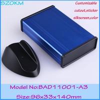 (1 piece ) aluminium enclosure box   96*33*140 mm electronic project box aluminum amplifier case