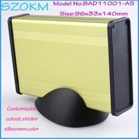 (1 piece ) amplifier enclosure 96*33*140 mm aluminum case aluminium box aluminium extrusion box