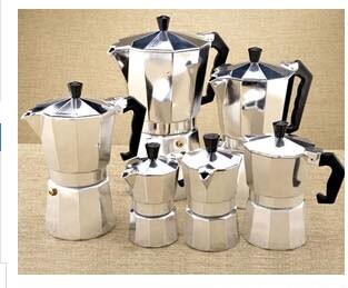 Alfonso Bialetti Moka Espresso coffee maker stove coffee maker 1 cup free shipping