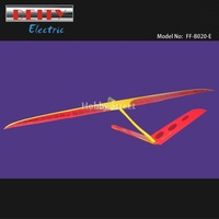 Deity Electric Glider 2000mm KIT with only Motor & Propeller Fiberglass fuselage Balsa wood wings RC scale sailplane wholesale