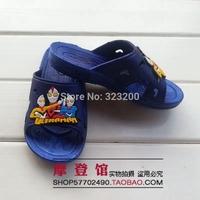 2014  Package mail cartoon antiskid sandals male children Baby toddler plastic children's shoes