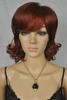 $wholesale_jewelry_wig$ free shipping women's curly short wigs/ wig