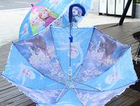 1X HANGING frozen PRINCESS QUEEN Long-handle children Kids Umbrella Whistle gif x41