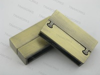 FREE SHIPPING 10 Sets 26.8x4.0mm Strong Matte Anti-Brass Magnetic Clasp for Brazil Bracelet