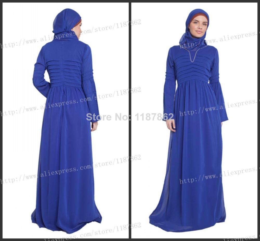 0794 Dubai Kaftan Evening Dress 2014 Muslim Formal Dresses Hijab Dress ...