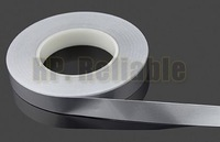1x 10mm* 50 meters *0.078mm Hot Appliance Insulation Mylar Aluminum Foil Tape Anti-Tear, Pipe Joint, ESD EMI Shielding