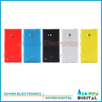Original new Back battery cover housing with side button sets for Nokia lumia 720 N720,black,white,yellow,red,blue