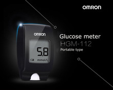 Free Shipping Home or Hospital Use Omron Blood Glucose Meter Strip/Glucose Monitoring System/Blood Sugar Testing For Diabetics