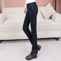 Spring 2014 women's jeans skinny pants elastic pencil pants long trousers jeans female