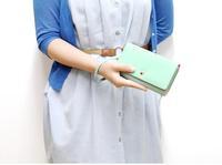 Happy Easy Buy --Donbook Crown Wallet for Big Phone-- 17cm x 10cm Demension-- Design for Big Phone-50pcs/lot wholesale