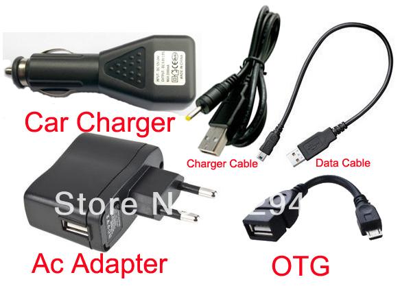Зарядное устройство для планшета 5V 2A + USB DC + Asus Eee Pad ME370T Lenovo S2010A S2109 S6000 автомобильное зарядное устройство tronsmart c3pta 2x2 4a 2a qc3 0 usb черный
