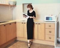 2014 new arrival knitting autumn dress women Korean style slim bottoming dress lady women Women clothes