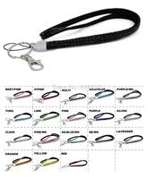 2014 Hot Free shipping(100pcs/lot) Wholesale Fashion 38 colors diamante neck lanyard