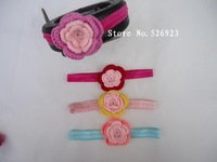 DIY Children's hair band headband blasting  baby girl kids infant flower hair accessories  headdress