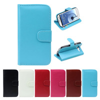 2014 Hot SalesNew Leather Wallet  Flip Case Cover For Samsung Galaxy S3 i9300 Free Shipping