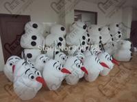 character snowman olaf mascot costumes