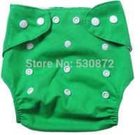 Wholesale10sets/lot  New Unisex Adjustable Baby Infant 1 Nappy Diaper+1insert  Reusable Washable Cloth 9 Colors -PY-PY