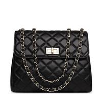 2014 brand women genuine leather handbags Chain Shoulder Bag totes Design Elegant Soft sheepskin Leather messenger Bags handbag