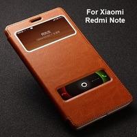 Xiaomi Redmi  / Red rice note case,Fetron Brand Genuine leather back cover case for Xiaomi Red rice Redmi Hongmi Note