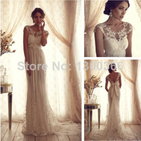 robes de mariée en dentelle scoop dinde. anna campbell hiver, robes